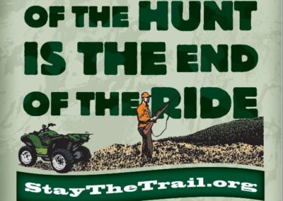 Hunting poster
