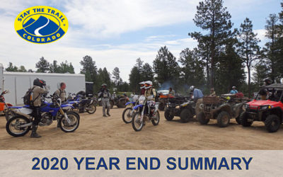 2020 Stay The Trail Year End Summary