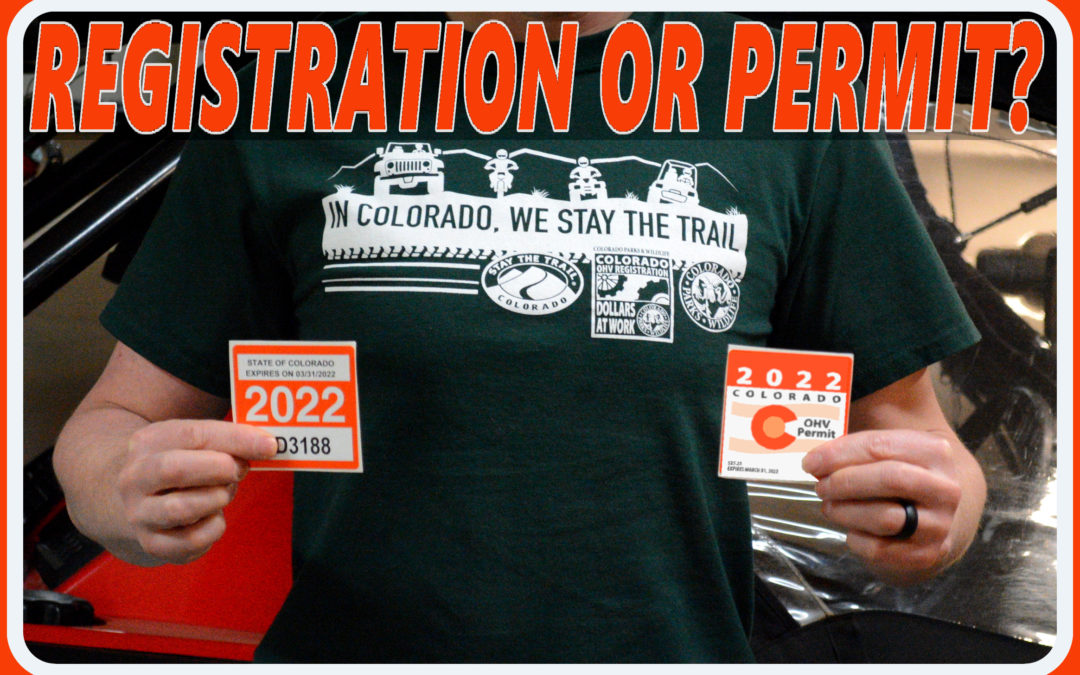 DO I NEED AN OHV REGISTRATION OR A PERMIT?