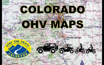 COLORADO OHV AREA SPECIFIC MAPS