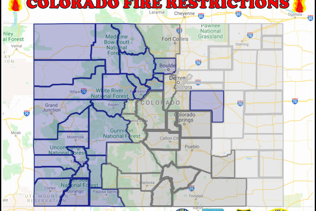 4th of July 2021 Colorado Fire Restrictions