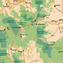 Interactive OHV Map | Stay The Trail on